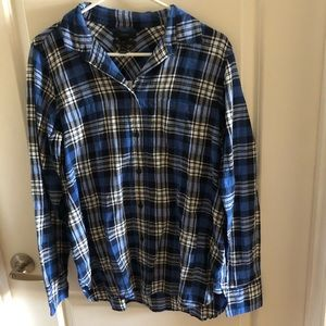 J. Crew plaid shirt